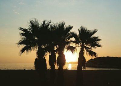 sunset Salobreña